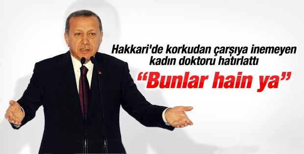 Erdoğan Yüksekova'daki bir doktorla olan anısını anlattı İZLE