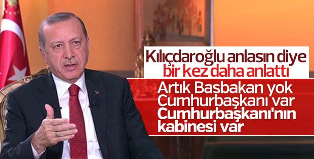 Cumhurbaşkanı Erdoğan Kılıçdaroğlu'na seslendi