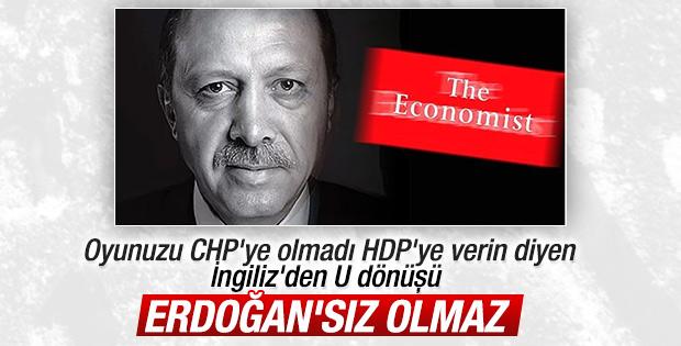 İngiliz The Economist: Erdoğan vazgeçilmez ortak