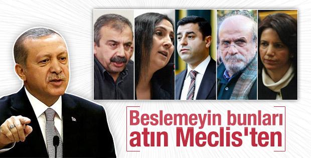 Erdoğan'dan dokunulmazlıklarla ilgili açıklama