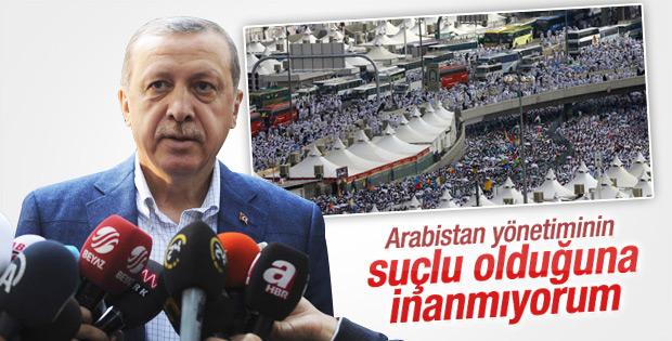 Cumhurbaşkanı Erdoğan'dan Hac faciası açıklaması