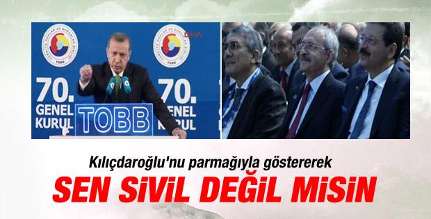 Başbakan Erdoğan'ın TOBB konuşması