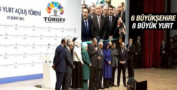 Erdoğan TÜRGEV Yurtları'nın açılışını yaptı
