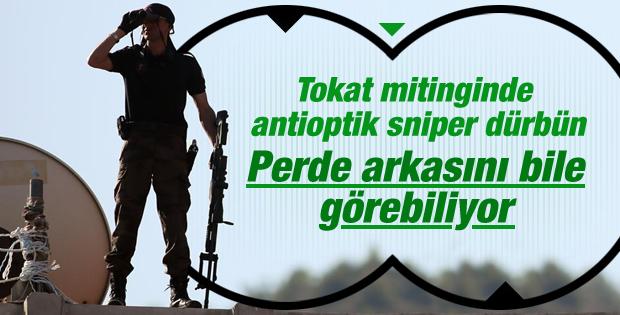 Başbakan Erdoğan'a antioptik sniper'lı koruma