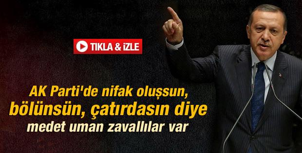 Erdoğan: AK Parti çatırdasın diye bekleyen zavallılar var - izle