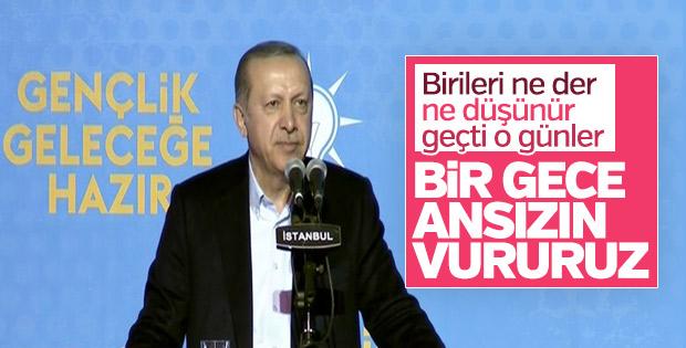 Erdoğan Gençlik Şurası'nda konuştu