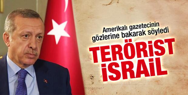 Başbakan Erdoğan: İsrail terör devletidir İZLE