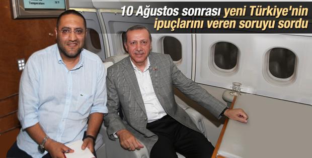 Erdoğan'dan Serkan Kalemciler'e önemli açıklamalar