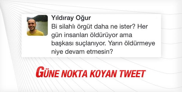 PKK vuruyor Erdoğan suçlanıyor