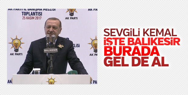 Erdoğan, Balıkesir İl Danışma Meclisi Toplantısı'nda