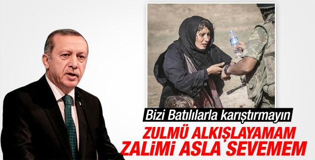 Cumhurbaşkanı Erdoğan'dan Batı'ya sert eleştiri