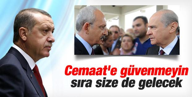 Erdoğan: O çete CHP ile MHP'yi arkalarından hançerleyecek İZLE
