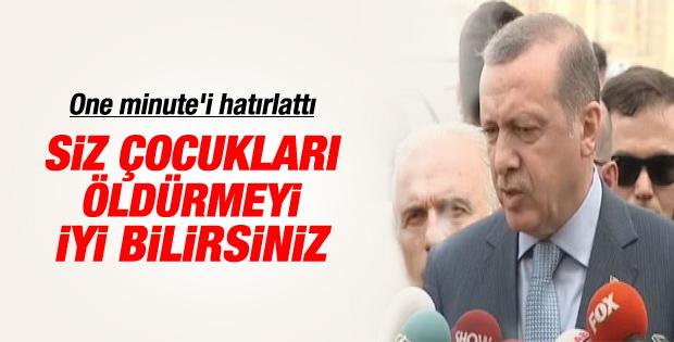 Başbakan Erdoğan'dan İsrail açıklaması İZLE