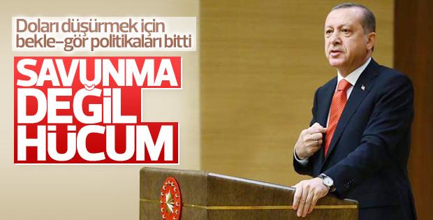 Erdoğan ekonomik sıkıntıları aşmanın yolunu söyledi