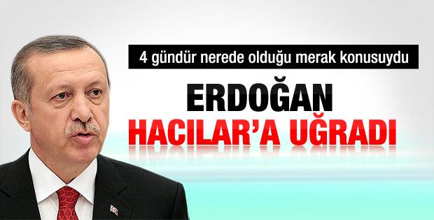Başbakan Erdoğan'ın nerede olduğu ortaya çıktı