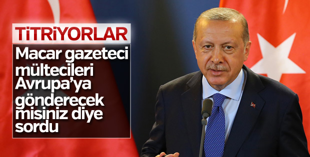 Başkan Erdoğan: Türkiye'de 4 milyon mülteci var