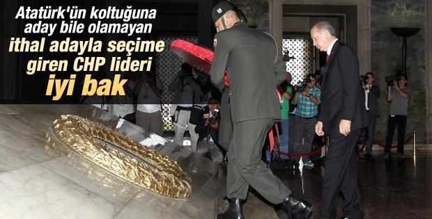 Cumhurbaşkanı Erdoğan Anıtkabir'i ziyaret etti İZLE