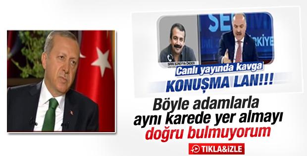 Cumhurbaşkanı Erdoğan'dan Dolmabahçe yorumu