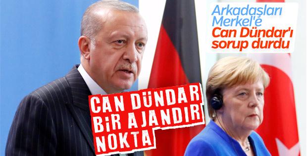 Başkan Erdoğan'ın Dündar yanıtı: Ajandır, suçludur