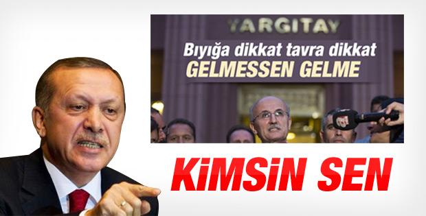 Erdoğan'dan Yargıtay Başkanı'na tepki İZLE