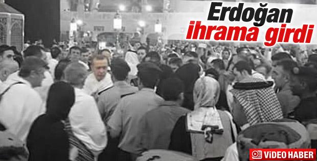 Cumhurbaşkanı Erdoğan Kabe'yi ziyaret ederek umre yaptı
