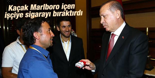 Erdoğan Irak'ta kaçırılan işçileri ağırladı