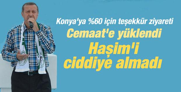 Başbakan Erdoğan'ın Konya konuşması