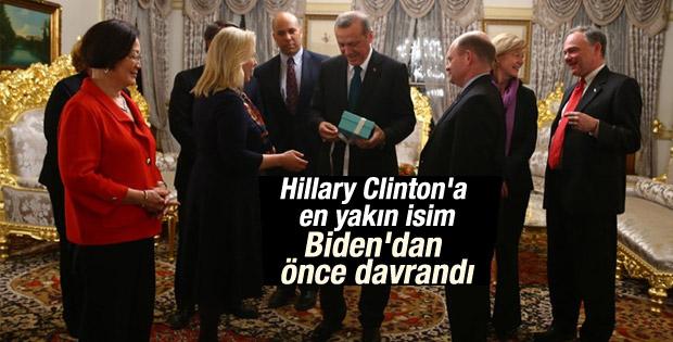 Cumhurbaşkanı Erdoğan ABD heyetiyle görüştü
