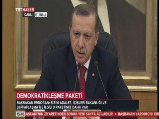 Erdoğan'dan Zaman muhabirine fırça - izle