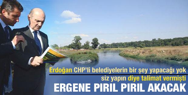 Ergene'de atık suyun yüzde 80'i arıtılacak