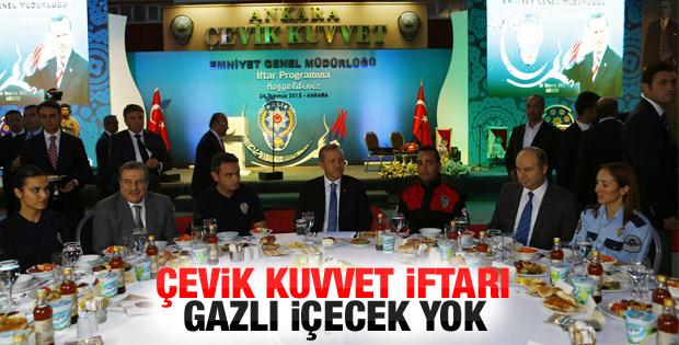 Erdoğan Çevik Kuvvet iftarına katıldı