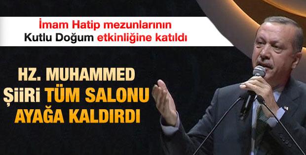 Erdoğan İHL Mezunları Derneği etkinliğinde konuştu