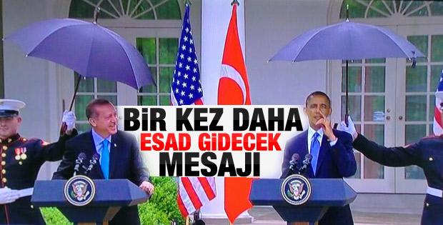 Erdoğan-Obama basın toplantısı