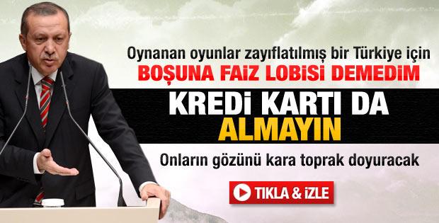 Erdoğan şehit ve gazi yakınları iftarında konuştu