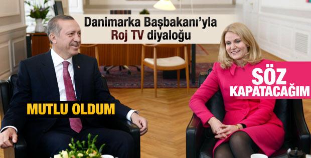 Erdoğan ve Danimarka Başbakanı'nın Roj TV diyaloğu