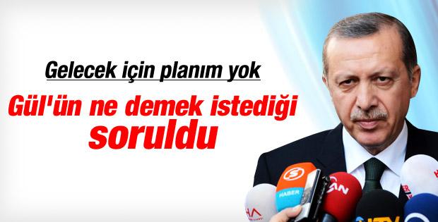 Erdoğan'dan Gül'ün siyasete dönüş açıklamasına cevap İZLE