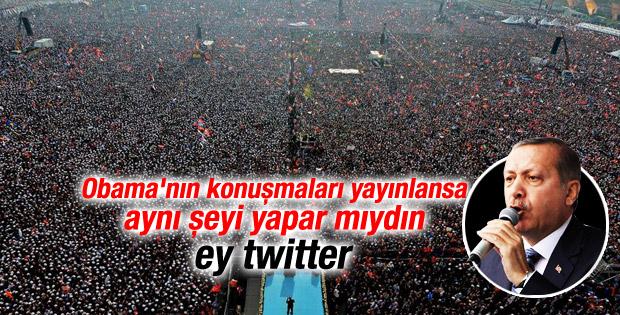 Erdoğan'ın İstanbul mitingi konuşması