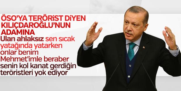 Cumhurbaşkanı, CHP'li Öztürk Yılmaz'a yüklendi