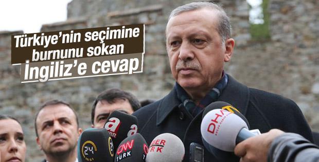 Cumhurbaşkanı Erdoğan'dan The Economist'e sert cevap