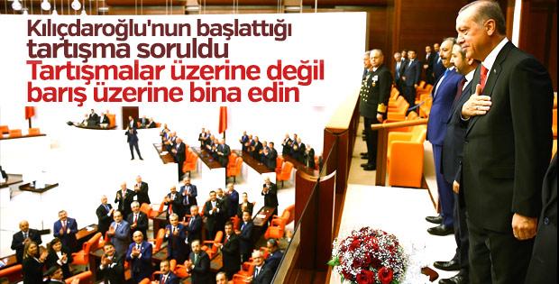 Erdoğan'dan Meclis'teki tartışmalara ilişkin açıklama