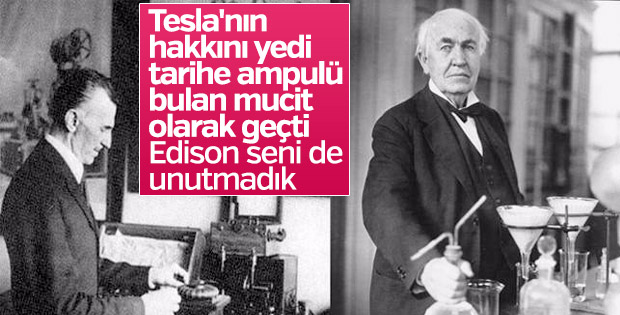Tesla ve Edison'un 'akım' rekabeti