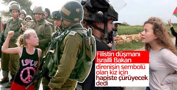 İsrailli Bakan'dan Filistin kahramanına küstah sözler