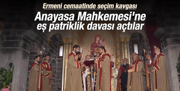 Ermeni cemaatinde seçim AYM'lik oldu