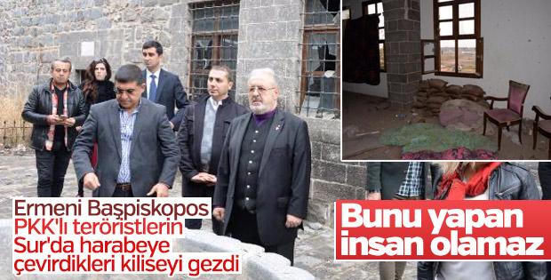 Ermeni Başpiskopos Sur'da