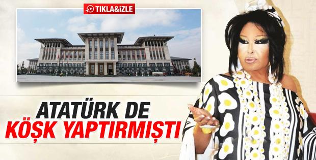 Bülent Ersoy'dan Cumhurbaşkanlığı Sarayı yorumu