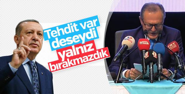 Cumhurbaşkanı Erdoğan'dan Edip Uğur yorumu