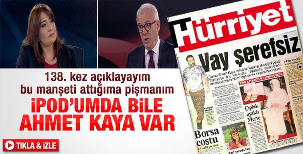 Ertuğrul Özkök: iPod'umda bile Ahmet Kaya var - izle