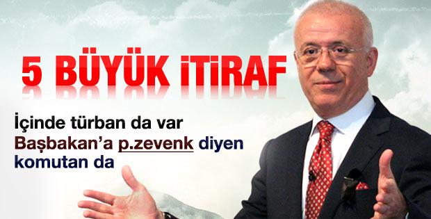 Ertuğrul Özkök'ten 28 Şubat itirafı