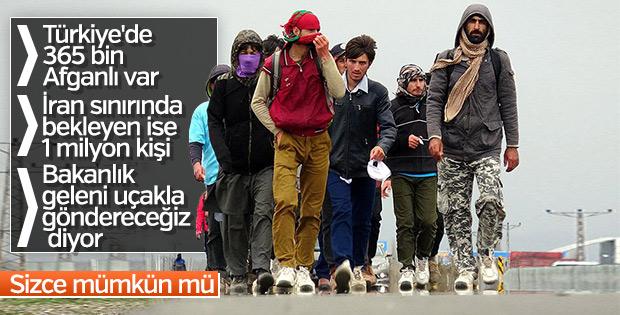 Erzurum'a gelen Afganlar sınır dışı edilecek