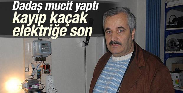 Erzurumlu mucit kayıp kaçak elektriği önlemeyi başardı